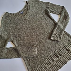 Charlotte Russe olive sweater size medium